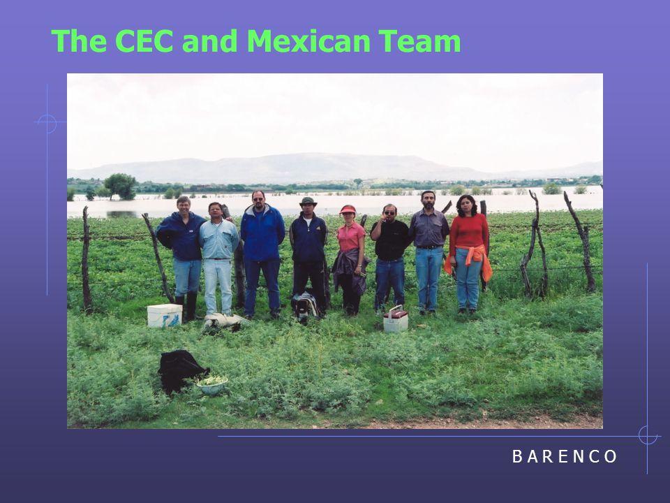 B A R E N C O The CEC and Mexican Team