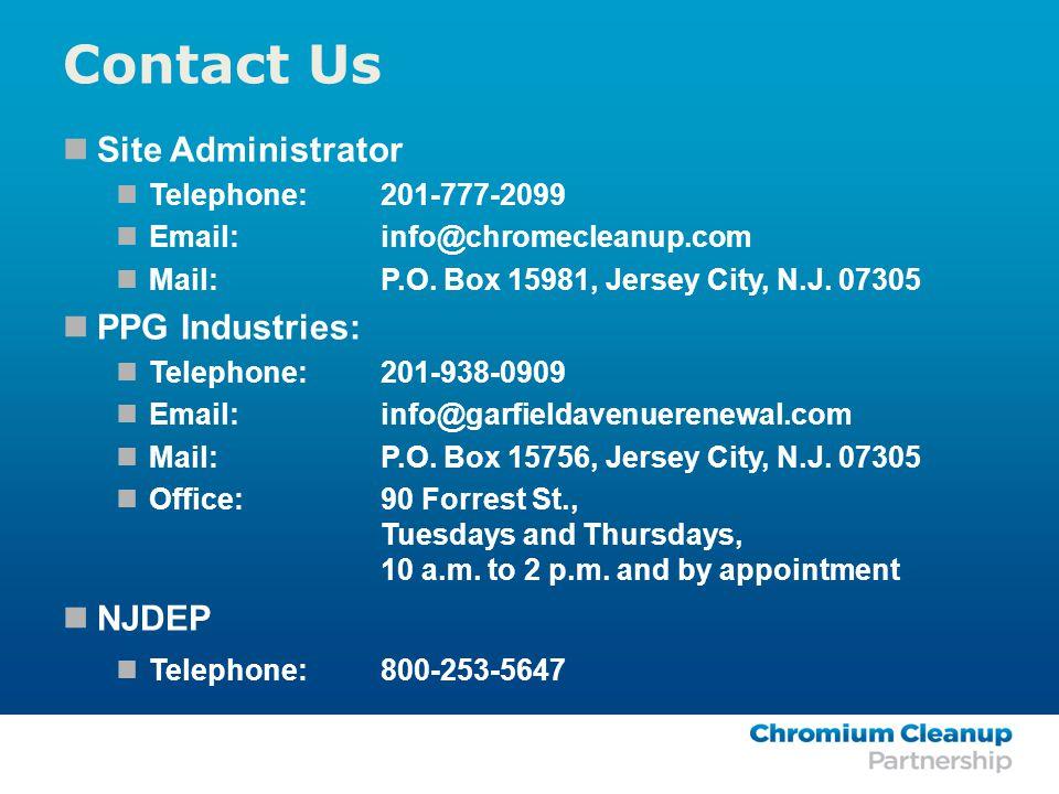 Site Administrator Telephone:201-777-2099 Email:info@chromecleanup.com Mail: P.O.