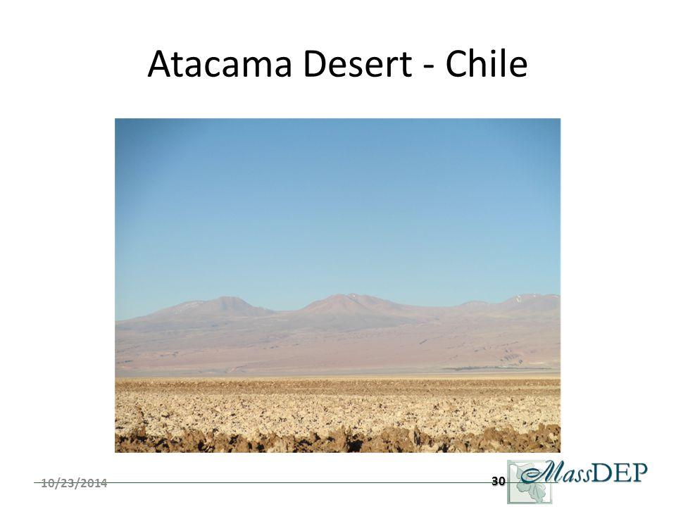 Atacama Desert - Chile 10/23/201430