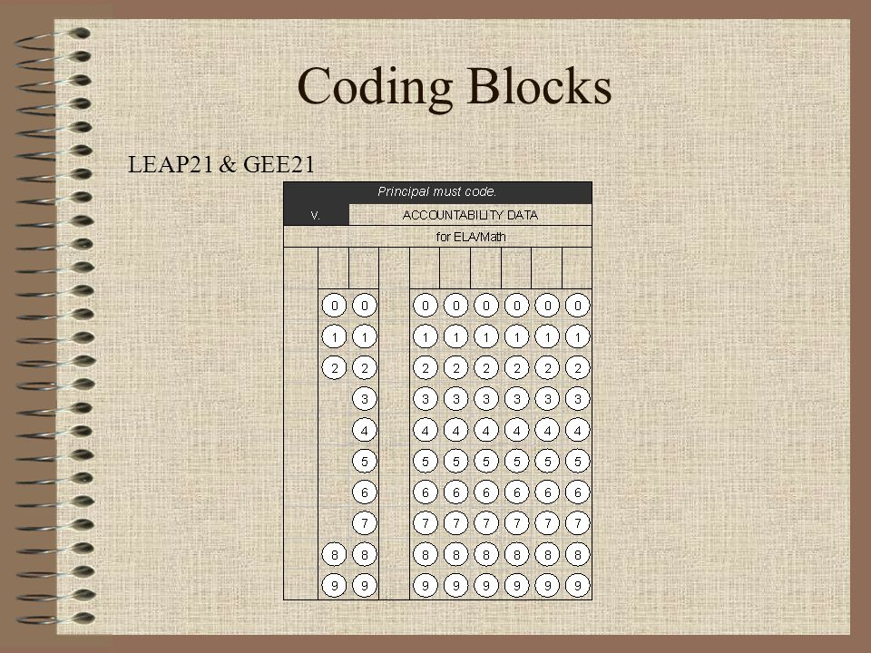 Coding Blocks LEAP21 & GEE21