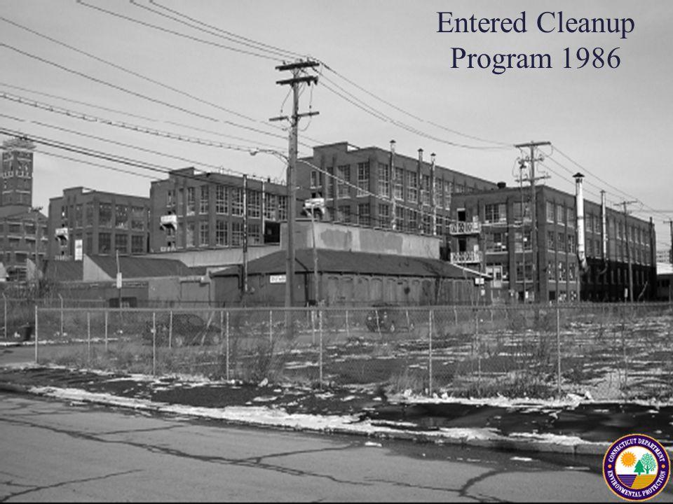 Entered Cleanup Program 1986