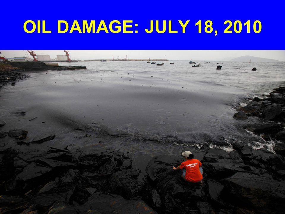 OIL DAMAGE: JULY 18, 2010