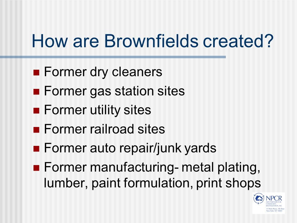 What are the NYC Brownfields Programs.