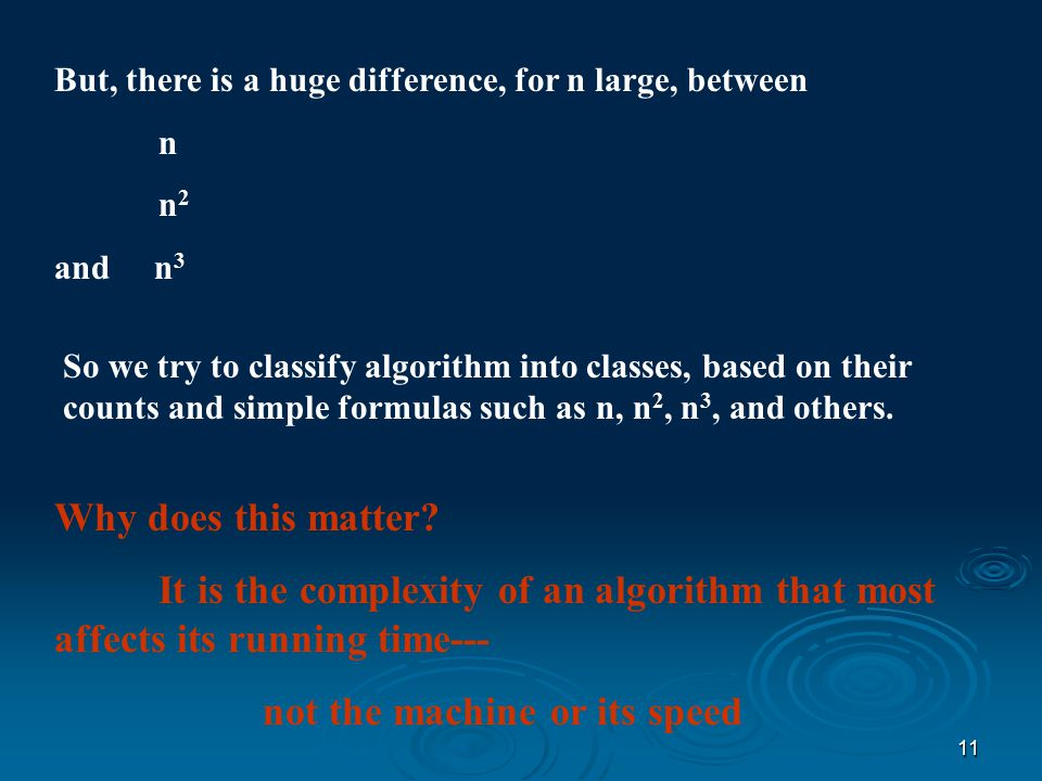 10 STEPS FOR DETERMING THE TIME COMPLEXITY OF AN ALGORITHM 5.