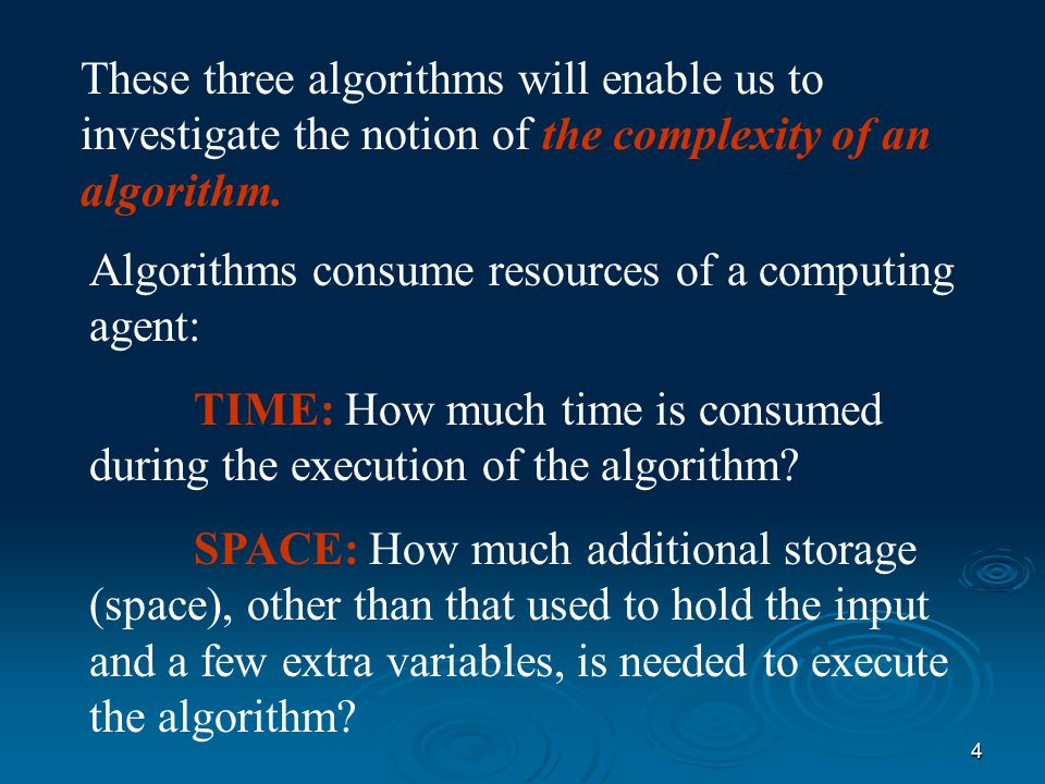 3 WE LL LOOK AT 3 DIFFERENT ALGORITHMS  Shuffle-Left Algorithm  The Copy-Over Algorithm  The Converging-Pointers Algorithm All solve the problem, but differently.