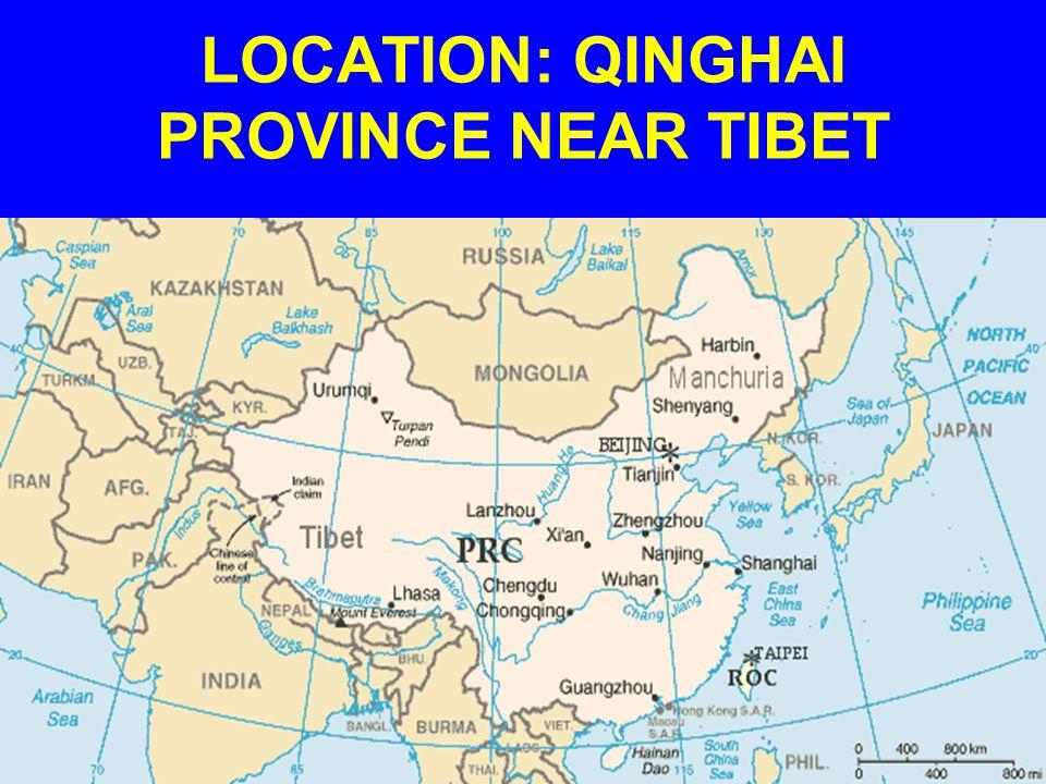 LOCATION: QINGHAI PROVINCE NEAR TIBET