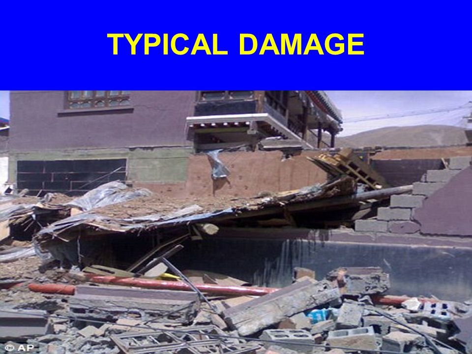 TYPICAL DAMAGE