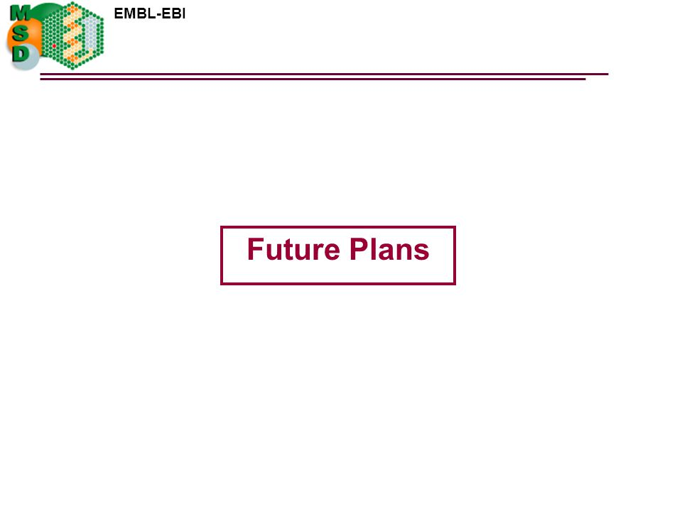 EMBL-EBI Future Plans