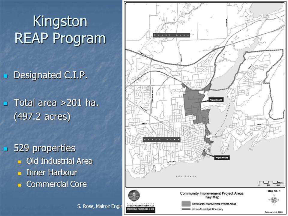 21 Kingston REAP Program Designated C.I.P. Designated C.I.P.