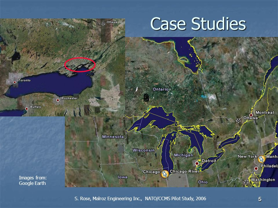 5 Images from: Google Earth Case Studies