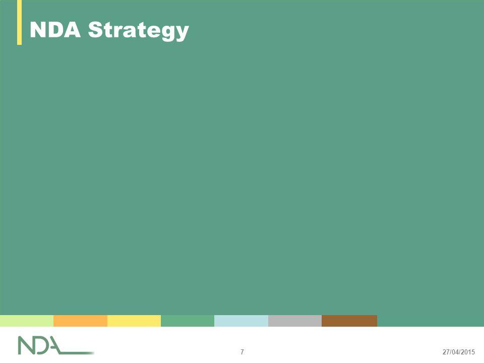 27/04/2015 7 NDA Strategy