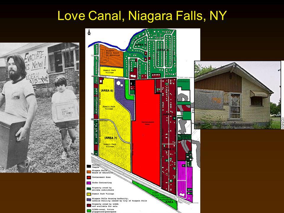 Cunningham - Cunningham - Saigo: Environmental Science 7 th Ed. Love Canal, Niagara Falls, NY