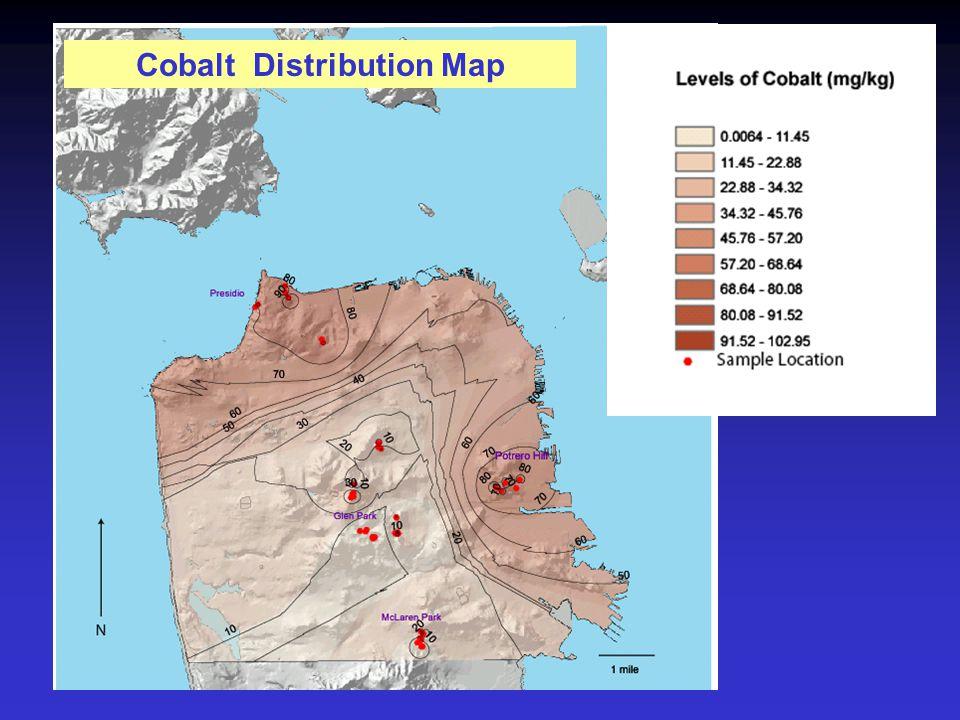 Cobalt Distribution Map