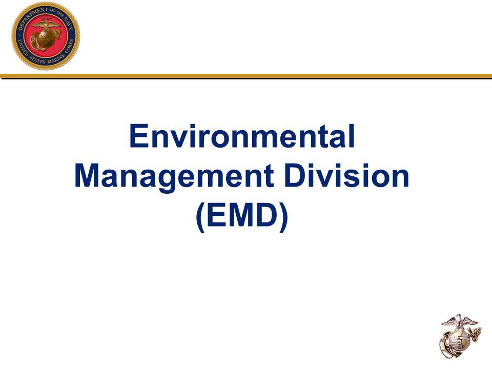 Environmental Management Division (EMD)