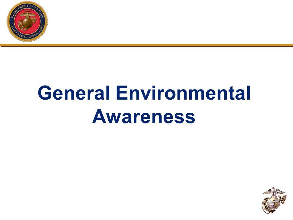 General Environmental Awareness