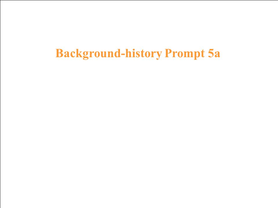Background-history Response 4a