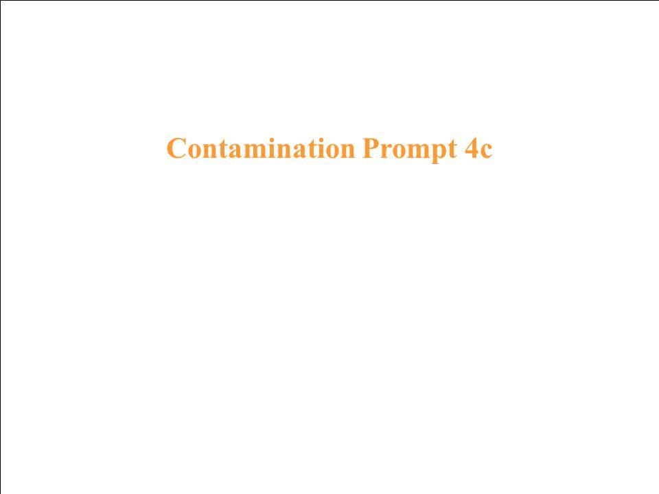 Contamination Response 3c