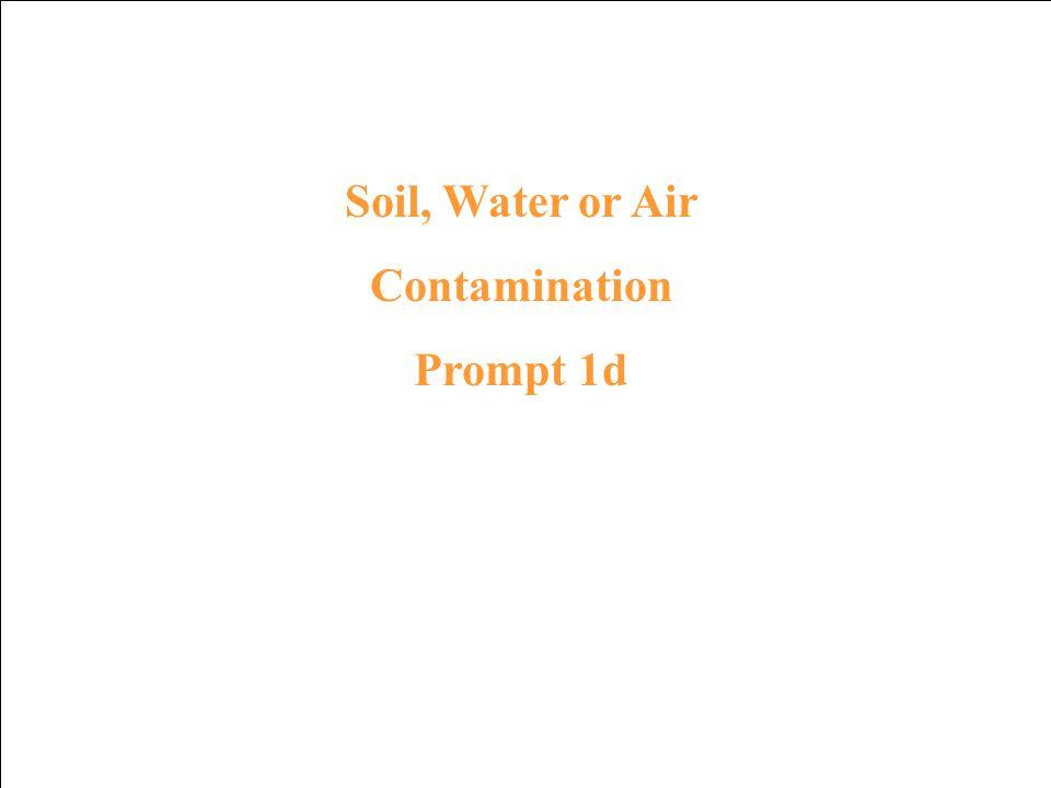 Contamination Response 5c