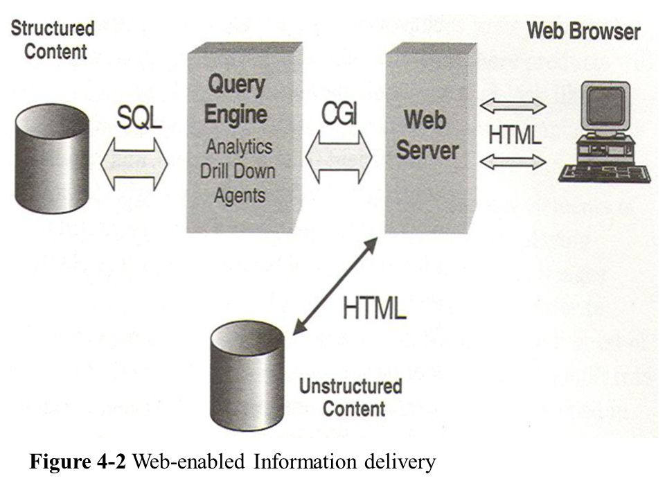 Figure 4-2 Web-enabled Information delivery