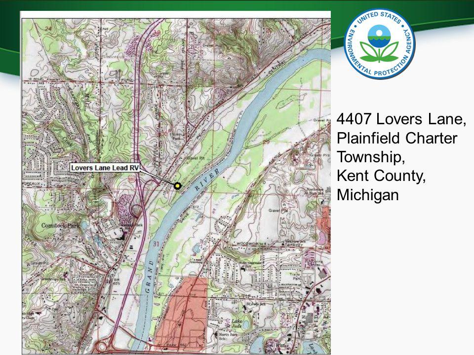 U.S. Environmental Protection Agency 4407 Lovers Lane, Plainfield Charter Township, Kent County, Michigan