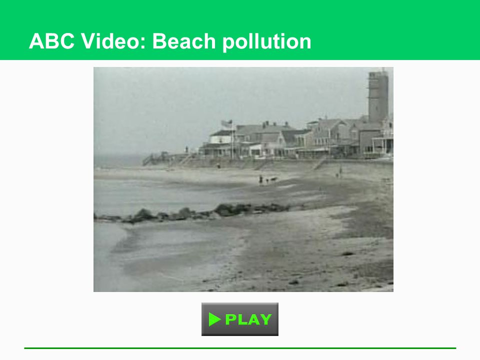 ABC Video: Beach pollution