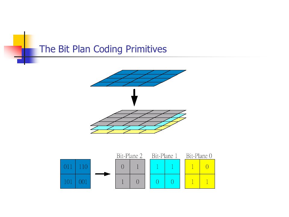 The Bit Plan Coding Primitives