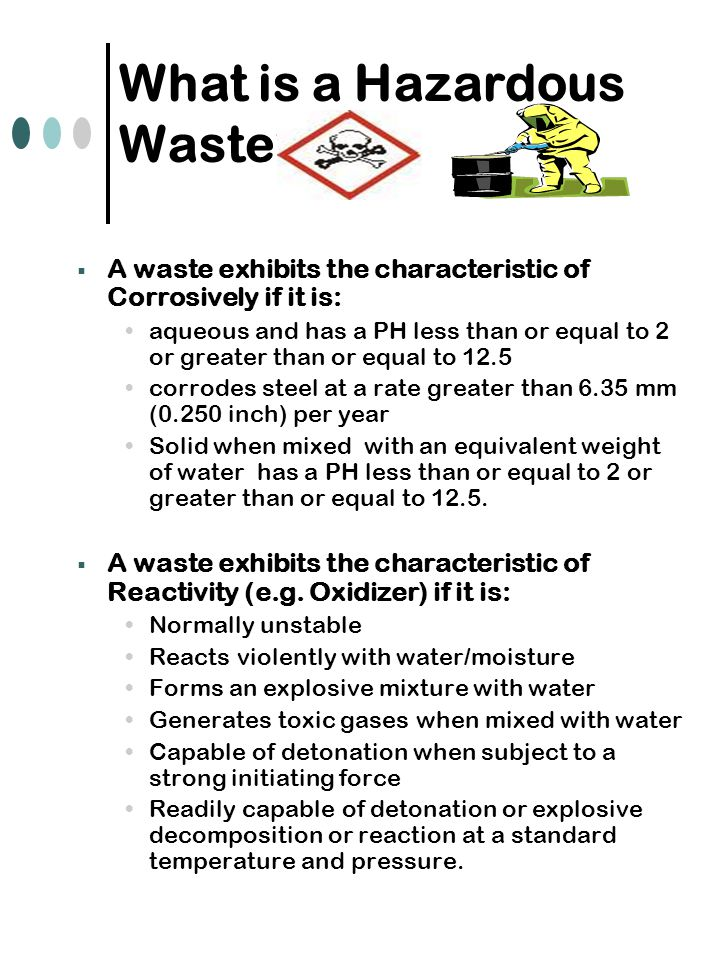 What is a Hazardous Waste.