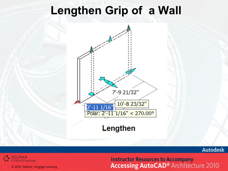 Lengthen Grip of a Wall