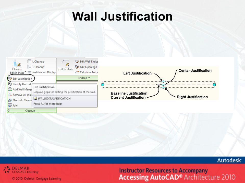 Wall Justification
