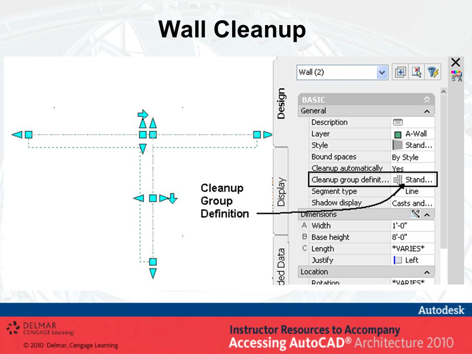 Wall Cleanup