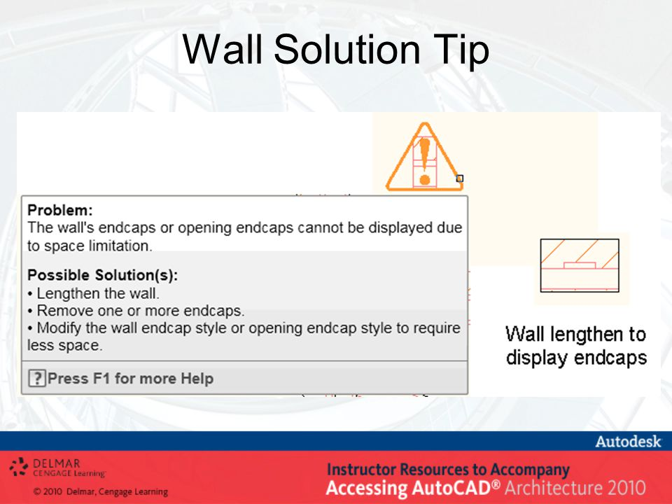 Wall Solution Tip