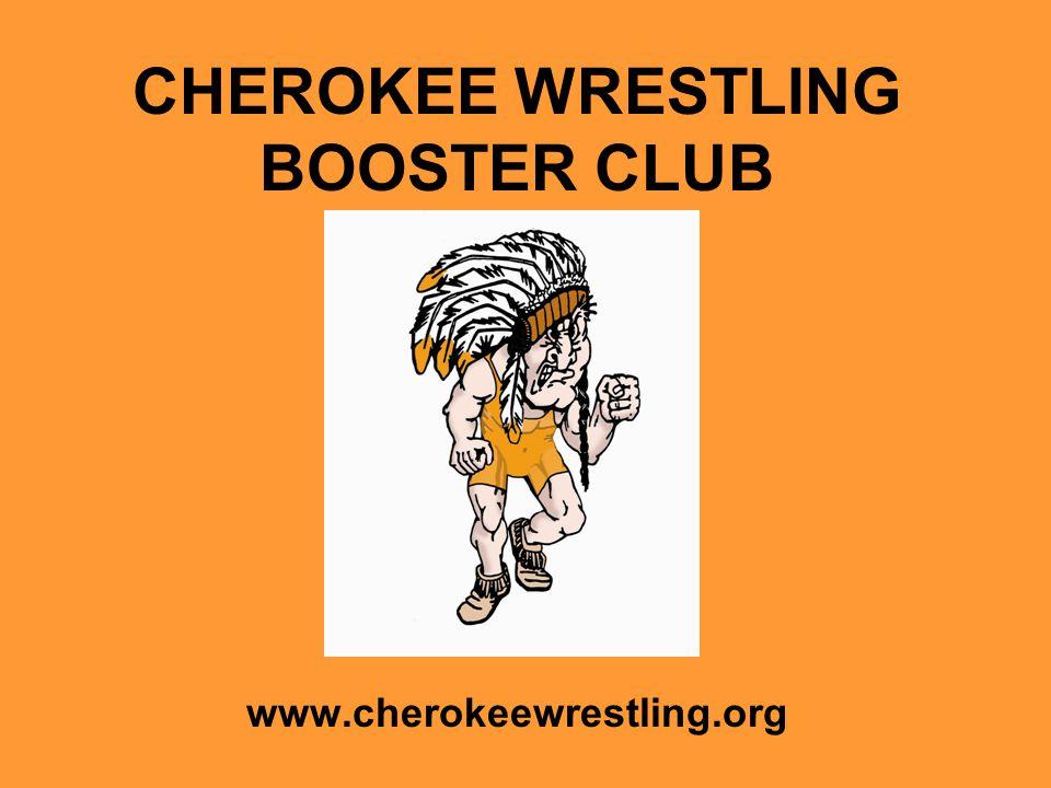 CHEROKEE WRESTLING BOOSTER CLUB www.cherokeewrestling.org