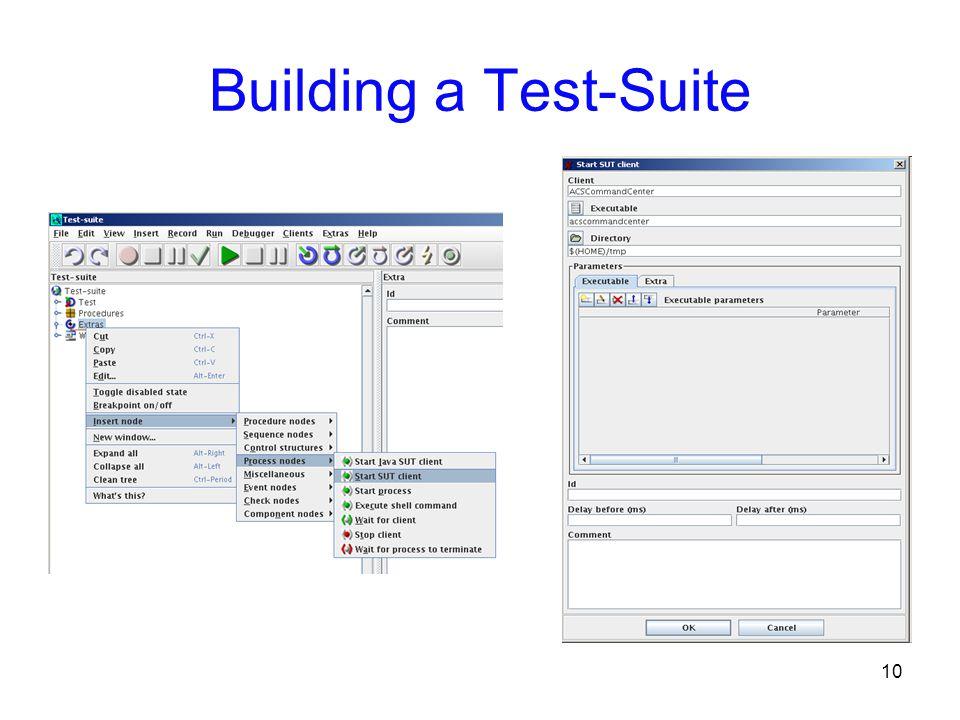10 Building a Test-Suite