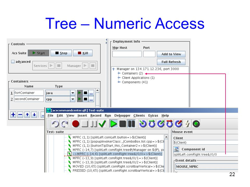 22 Tree – Numeric Access