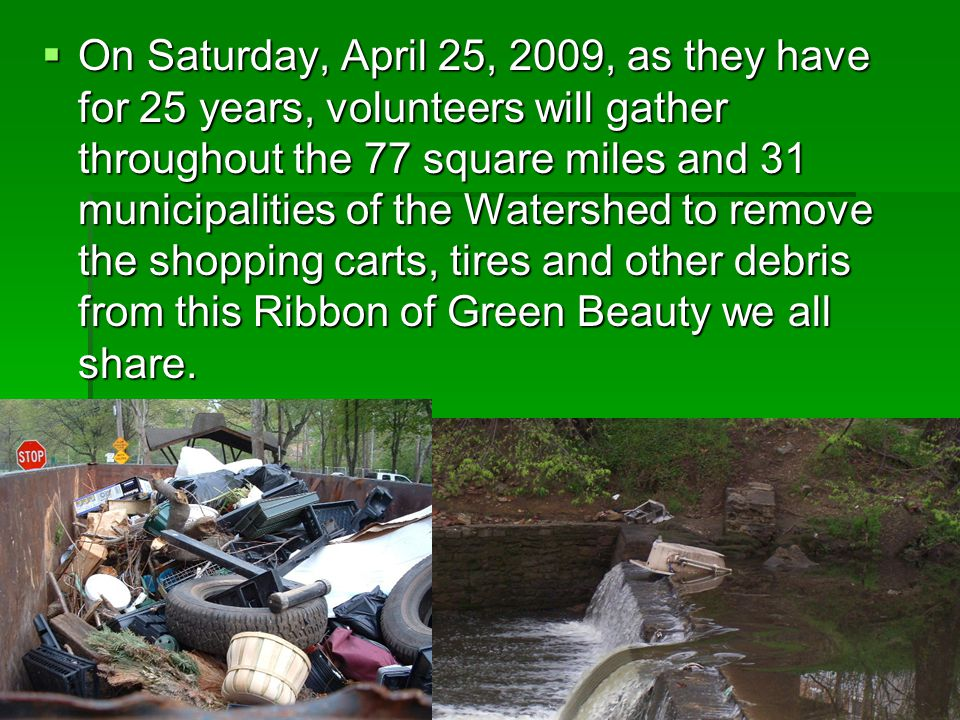 There's a Cleanup Site near you