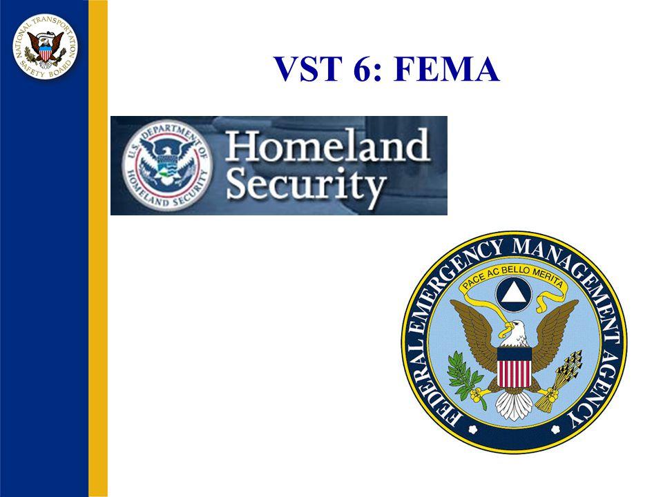 VST 6: FEMA