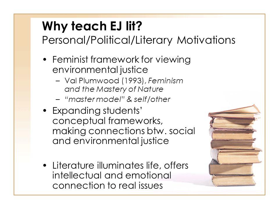 Why teach EJ lit.