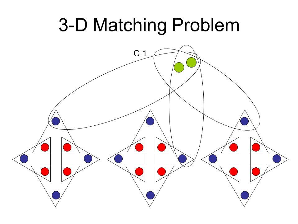 3-D Matching Problem C 1