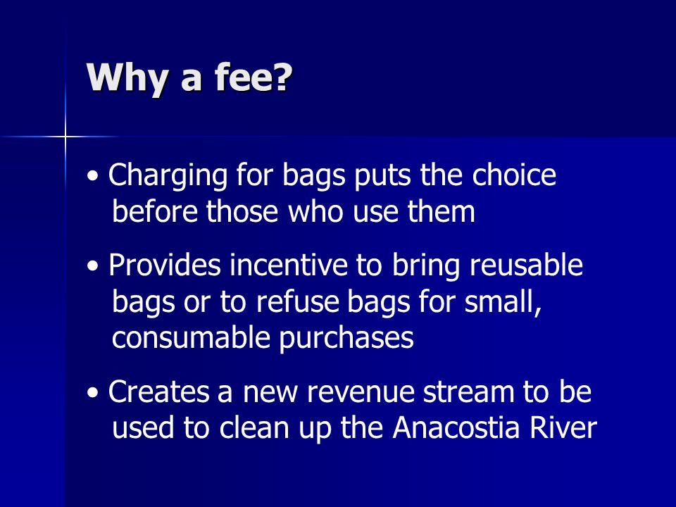 Why a fee.