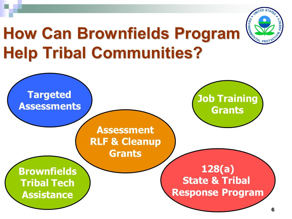 6 How Can Brownfields Program Help Tribal Communities.