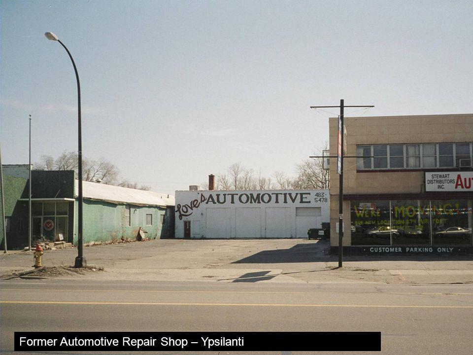 Former Automotive Repair Shop – Ypsilanti