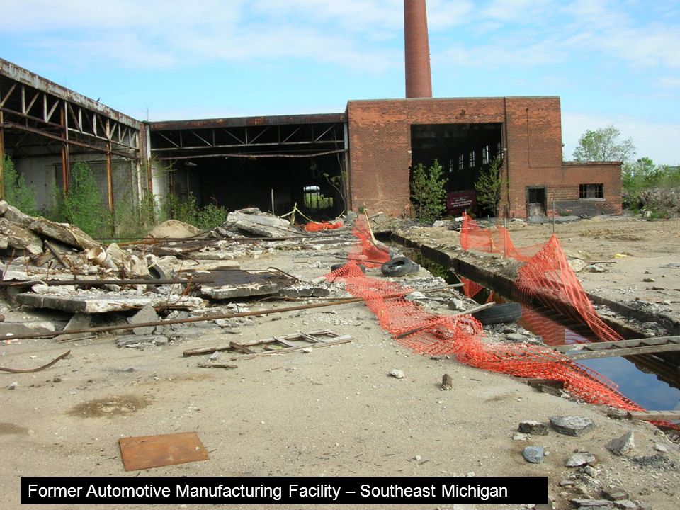 Former Automotive Manufacturing Facility – Southeast Michigan