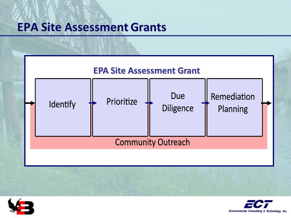 EPA Site Assessment Grants EPA Site Assessment Grant