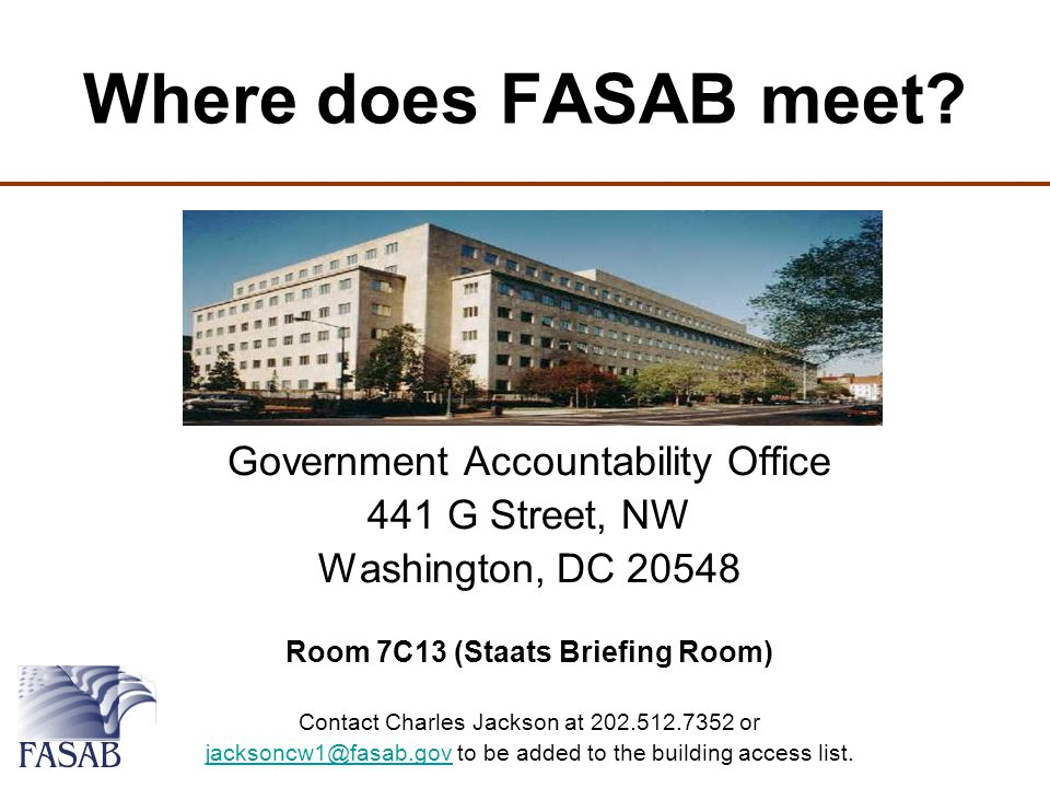 Where does FASAB meet.