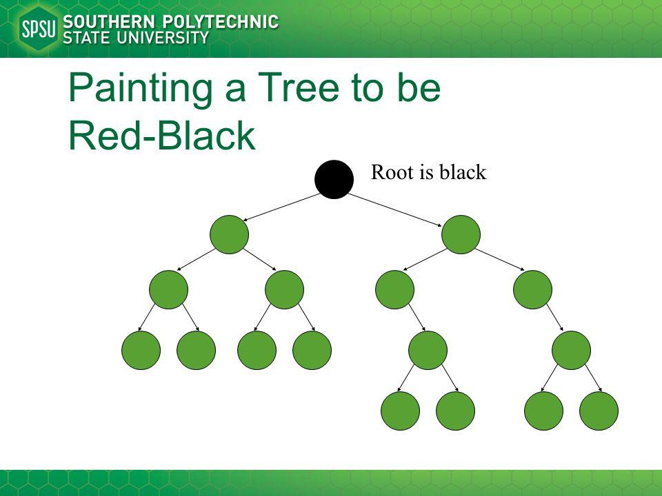 Root is black