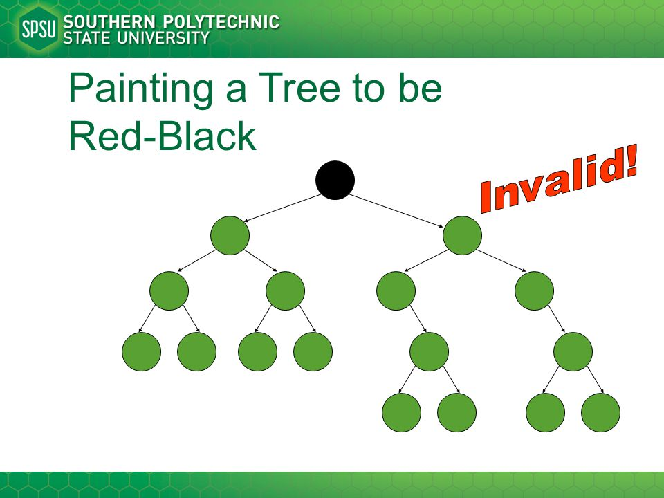 Painting a Tree to be Red-Black