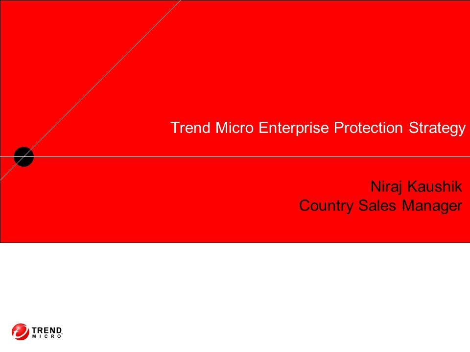 Trend Micro Enterprise Protection Strategy Niraj Kaushik Country Sales Manager
