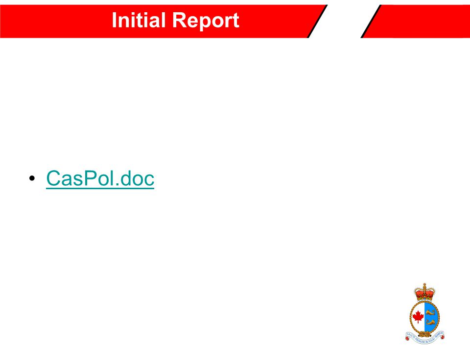 Initial Report CasPol.doc