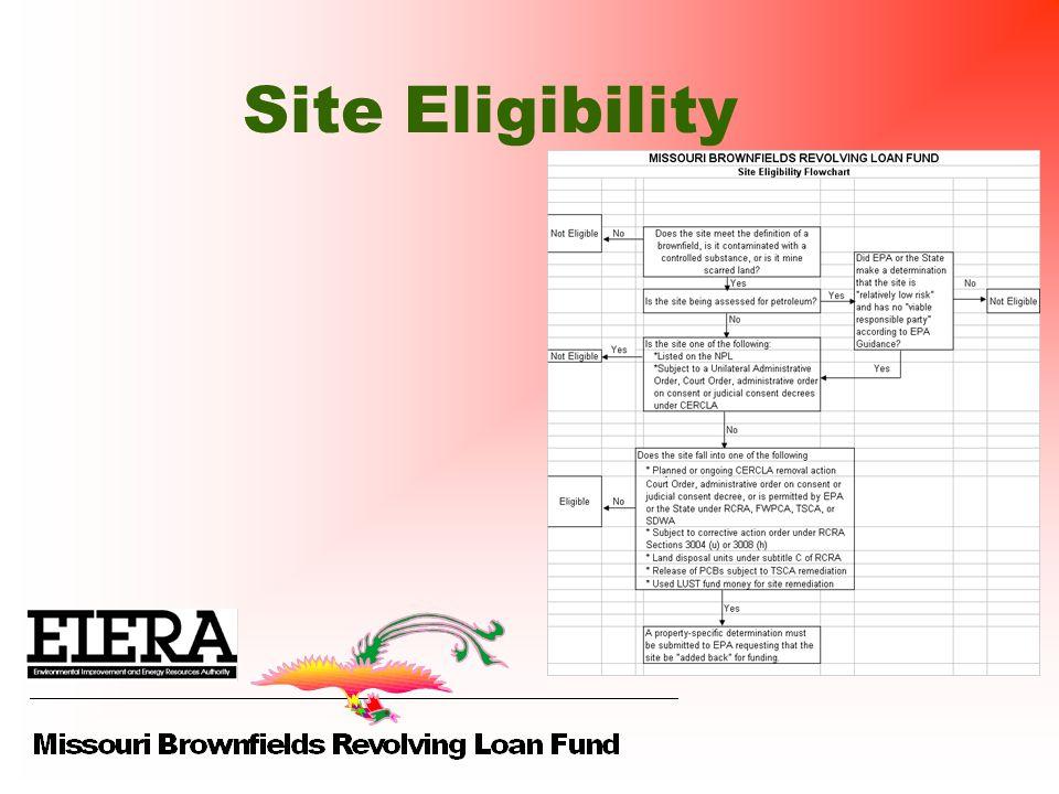 Site Eligibility