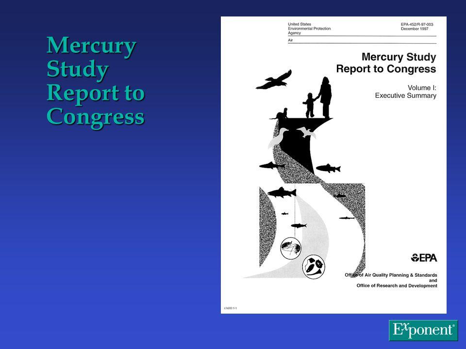 Mercury Study Report to Congress
